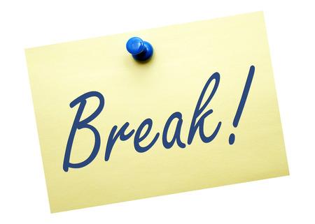 Break   Zdjęcie Seryjne