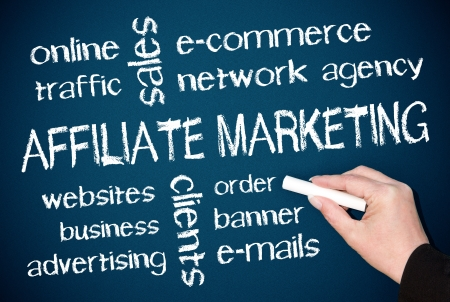 Affiliate Marketing Stock Photo - 22836814