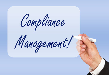 law business: Compliance Management Stock Photo