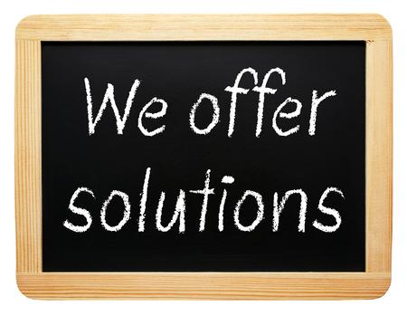 vers  ¶hnung: Wir bieten Lösungen