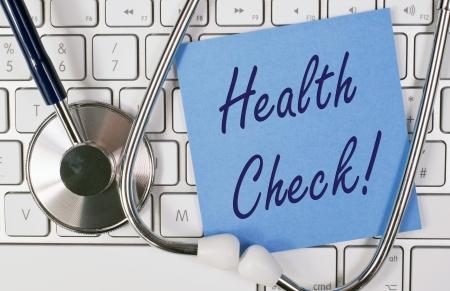 human health: Chequeo de Salud  Foto de archivo