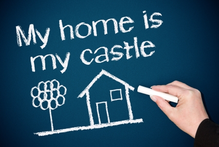 My home is my castle Stock Photo - 22978288