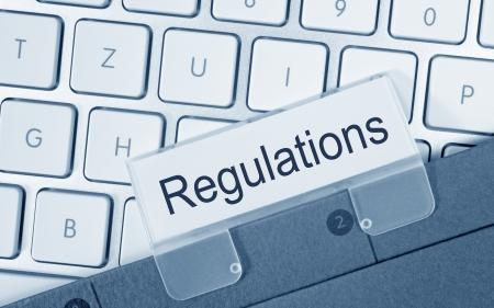 regulated: Regulations