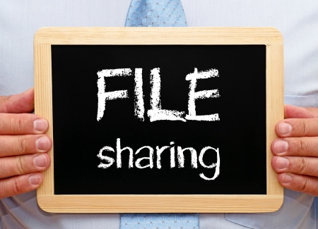 File Sharing - Business Concept photo