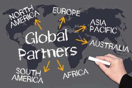 Global Partners Banque d'images - 22978379