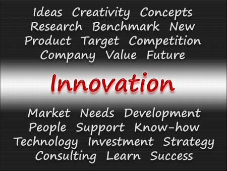 Innovation - Business Concept photo