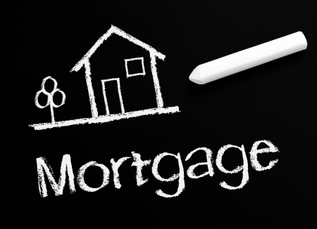 refinance: Mortgage Stock Photo
