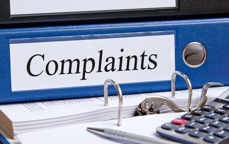 complaints: Complaints