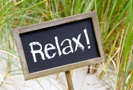 Massage therapy: Relax Stock Photo