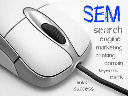 SEM - Search Engine Marketing Stock Photo - 23109381