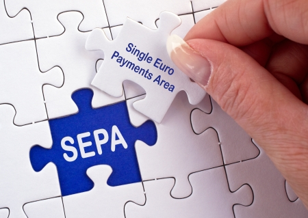 SEPA - Single Euro Payments Area Stock Photo - 23118306
