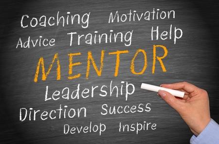 Mentor - Business Concept Фото со стока - 23110982