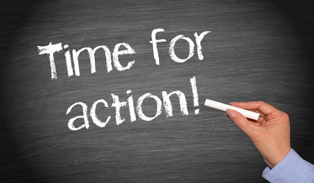 Time for action Stock Photo - 23180958
