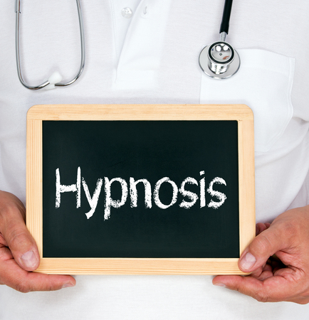doctor burnout: Hypnosis Stock Photo