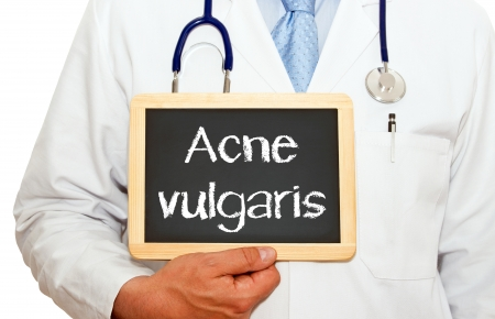 Acne vulgaris photo