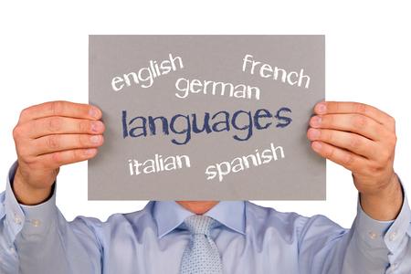 Langues Banque d'images