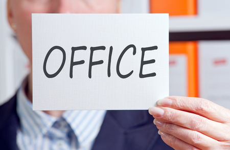 Woman in the Office Stock Photo - 23199070