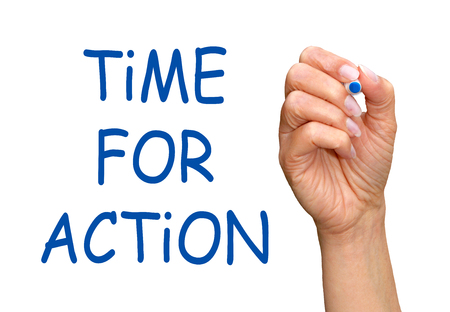 Time for Action Stock Photo - 23312193