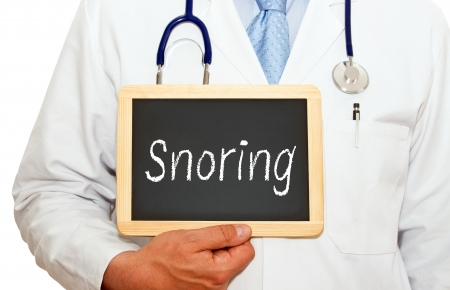 doctor burnout: Snoring