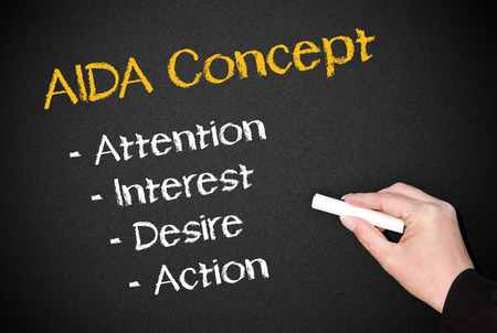 AIDA Marketing Concept photo