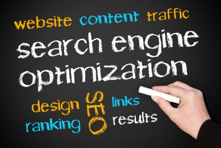 Search Engine Optimization - SEO Stock Photo - 23388597