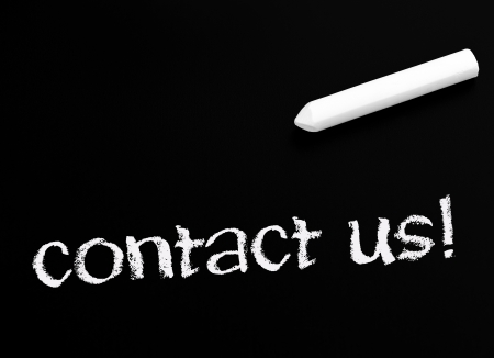 contact us Stock Photo - 23388617