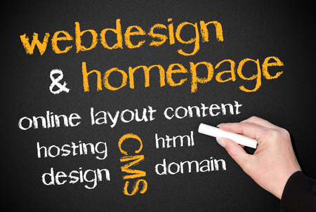homepage: Webdesign and Homepage
