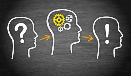 문제 - 분석 - 해결 스톡 콘텐츠