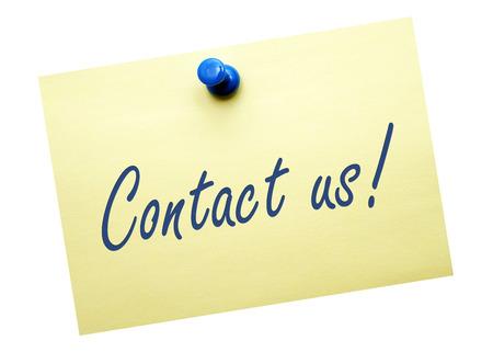 postits: Contact us