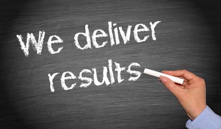 We deliver results Standard-Bild