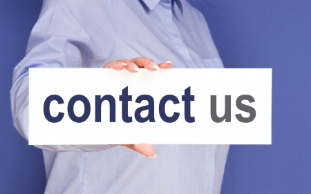 contact us Stock Photo - 23573268