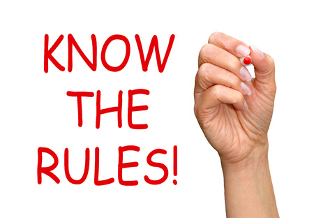 Know the Rules   photo