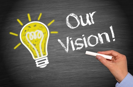 our: Our Vision Stock Photo