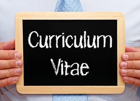 Curriculum Vitae photo