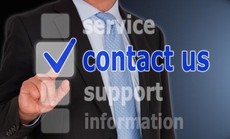 contact us Stock Photo - 23999943