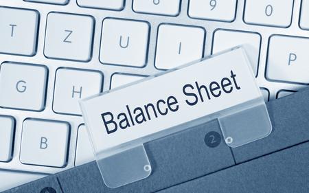 taxes budgeting: Balance Sheet