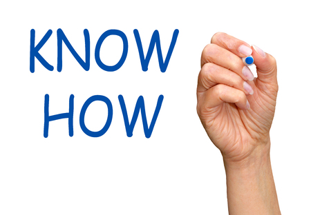 knowhow: Know How Stock Photo