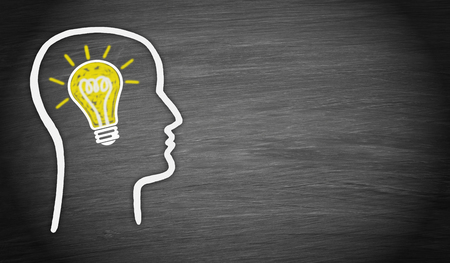 know how: Man with great Idea
