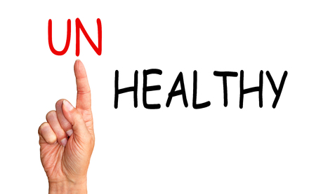 unhealthy living: Healthy instead Unhealthy
