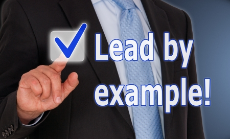 examples: Lead by example