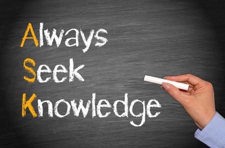 knowhow: ASK - Always Seek Knowledge