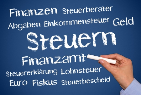 tax return: Taxes - German Language