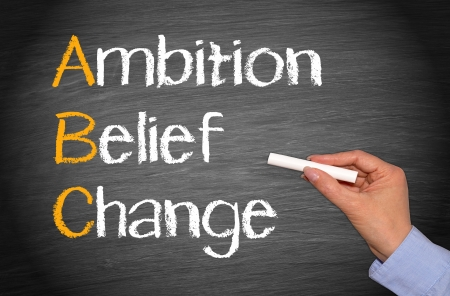 Ambition - Belief - Change photo