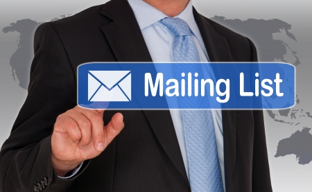 mail man: Mailing List