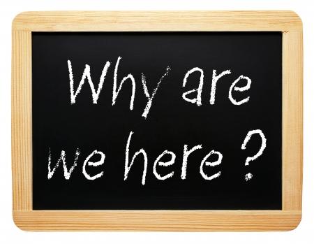 proposito: ¿Por qué estamos aquí