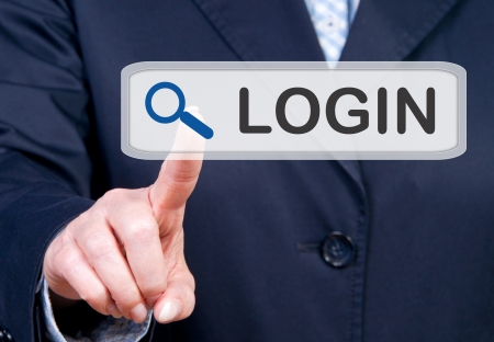 client service: Login