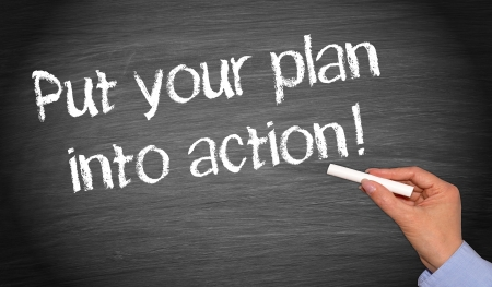 Put your plan into action photo