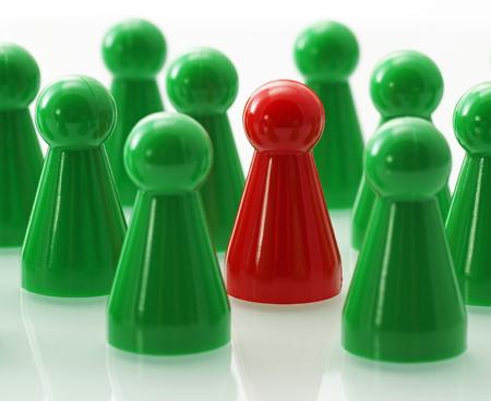 Teamwork and Leadership Stock fotó