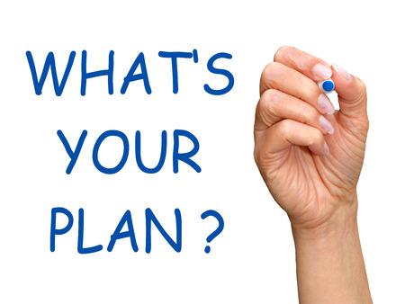 Wat is uw plan