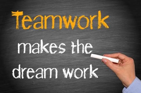 juntos: O trabalho em equipe faz com que o trabalho do sonho